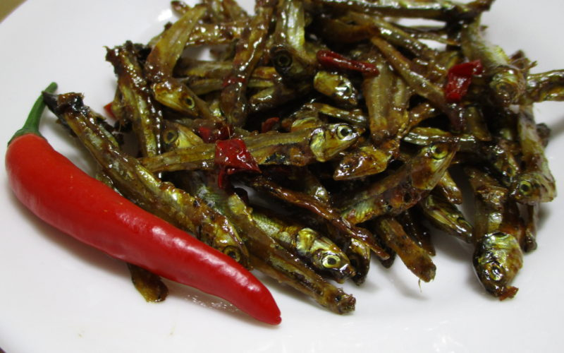 Sweet & Spicy Dilis (Anchovies)
