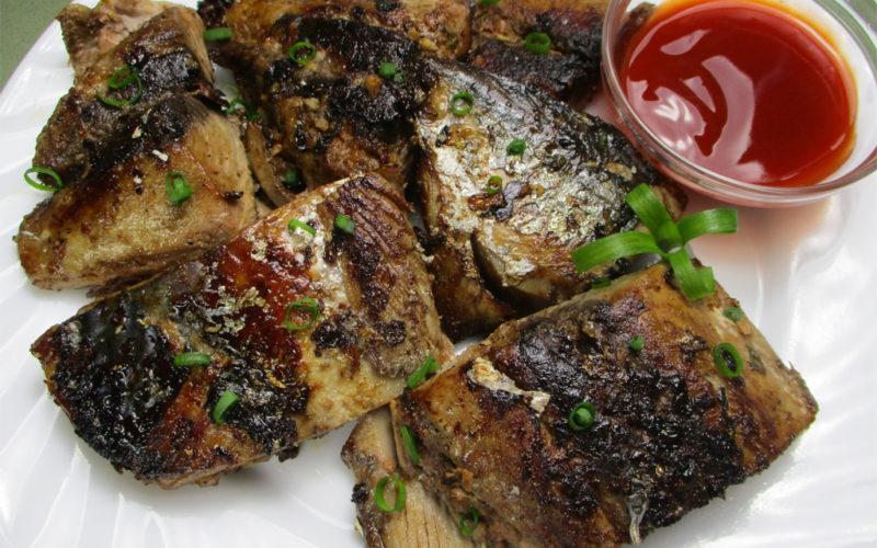 Fried Paksiw Fish