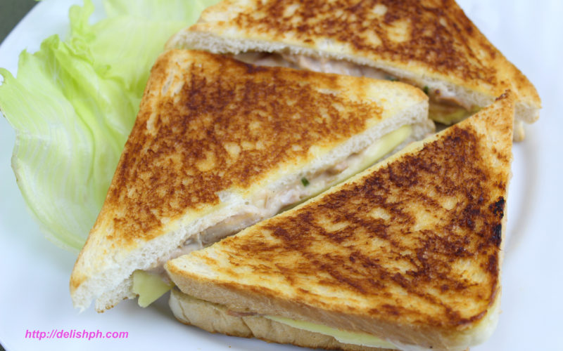 Tuna and Cheese Grilled Sandwich