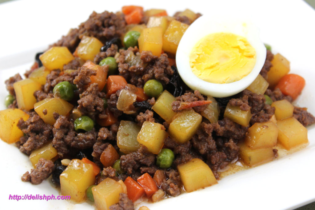 Beef Giniling aka Filipino Picadillo
