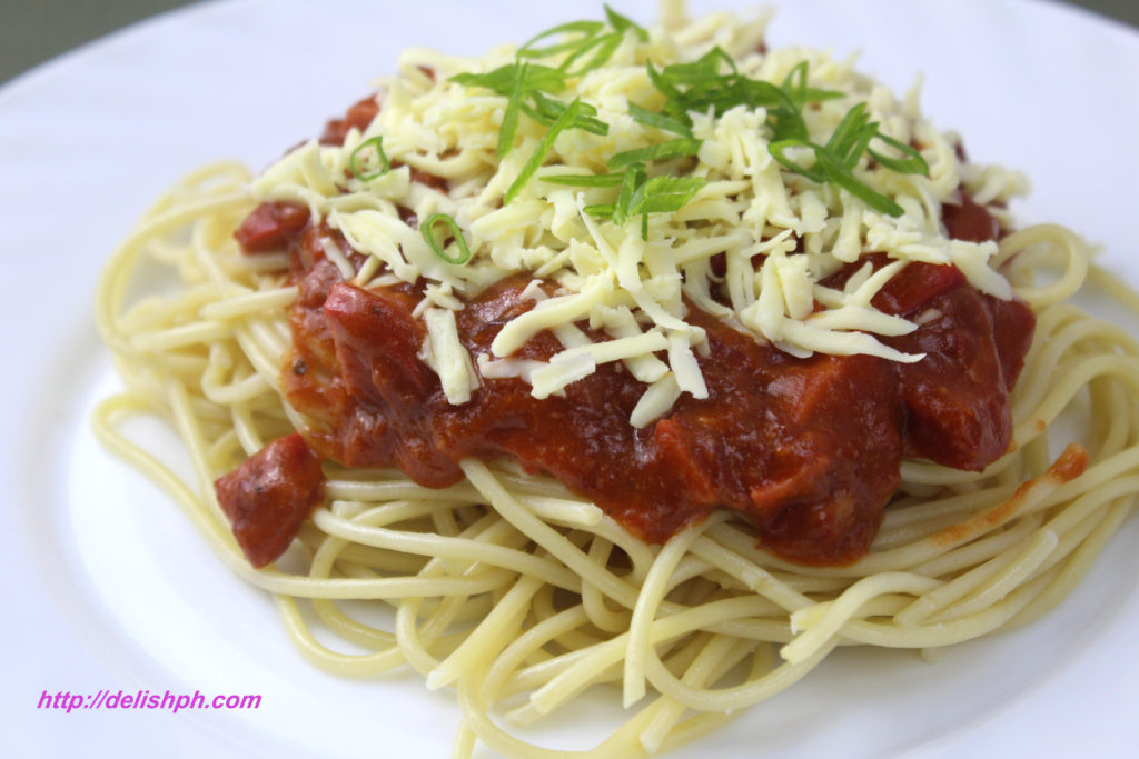Easy Corned Beef Spaghetti