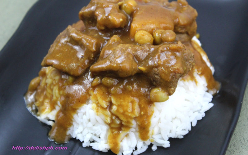 Japanese Style Beef Curry